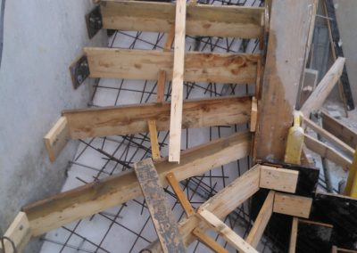 Second Oeuvre-Coffrage d'escalier